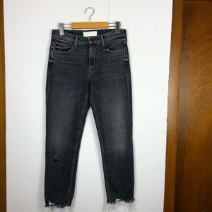 Mother The Sinner Chew Cropped Jeans Sz 25